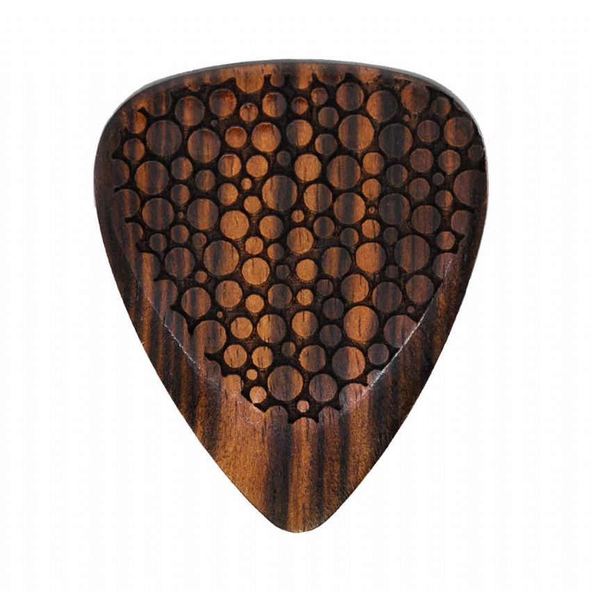 Laser Tones Grip - Bubbles - 1 Guitar Pick | Timber Tones